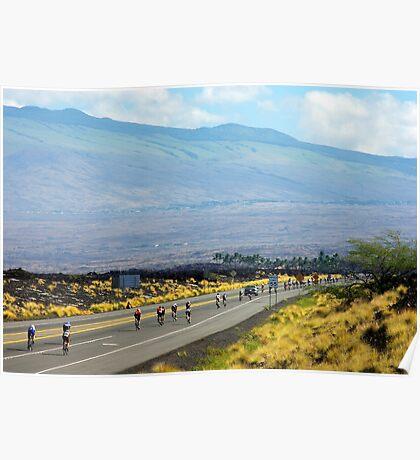 Long road ahead... Kona Ironman Poster