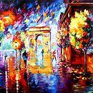 Love in Paris by Daniel Wall
