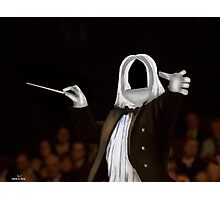Corky the Conductor Photographic Print