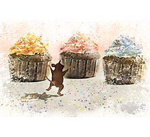 Cupcake Joy Photographic Print