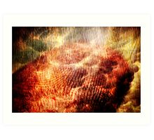 Born on Clouds and Burning Trees Art Print