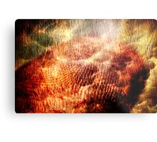 Born on Clouds and Burning Trees Metal Print
