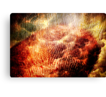 Born on Clouds and Burning Trees Canvas Print