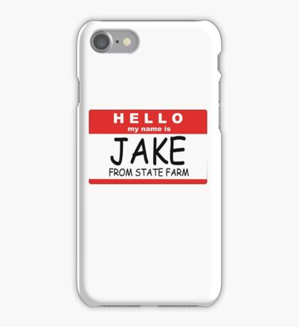 Jake from State Farm iPhone Case/Skin