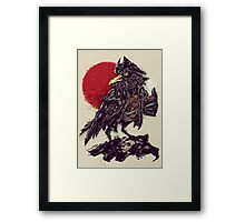 BlackBi(ea)rd Framed Print