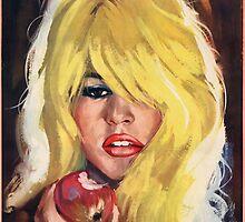 Brigitte Bardot - Mademoiselle Striptease - 1956 by okeydokey