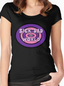 Pastel Sad World Women's Fitted Scoop T-Shirt