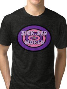 Pastel Sad World Tri-blend T-Shirt