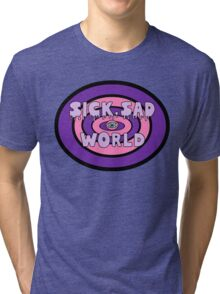 Pastel Sad World Tri-blend T-Shirt