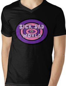 Pastel Sad World Mens V-Neck T-Shirt