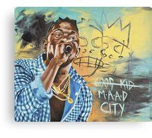 Good Kid M.A.A.D City Canvas Print