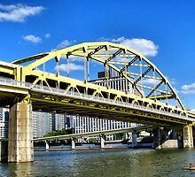 Pittsburgh Bridge by Lyndsay81