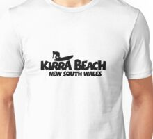 Kirra Beach New South Wales Surfing Unisex T-Shirt
