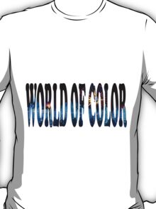 World Of Color T-Shirt