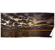 Corio Bay at Dawn (2) Poster