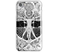 Jon Vitruvian Man iPhone Case/Skin