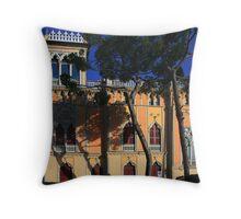 Italian villa Throw Pillow