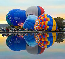 Balloon cluster symmetry by Anthony Caffery