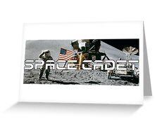 Space Cadet Apollo 11 Logo Greeting Card