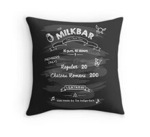 The MilkBar Throw Pillow