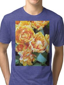 Blooming Tulips Tri-blend T-Shirt