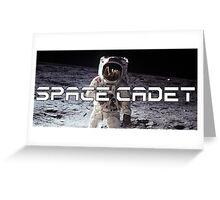 Space Cadet Apollo 11 Logo 2 Greeting Card