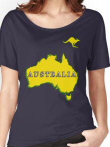 AUSTRALIA-2015 Women's Relaxed Fit T-Shirt