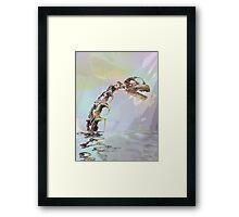 Monster of Loch Ness Framed Print