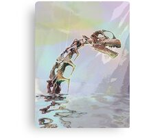 Monster of Loch Ness Canvas Print
