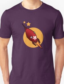 Retro Rocket Unisex T-Shirt
