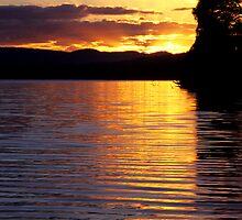 Sandy Point Sunrise by Travis Easton
