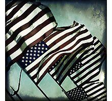 Stars 'n' Stripes Photographic Print