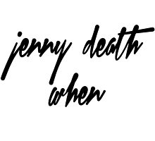 Death Grips - JENNY DEATH WHEN? by Justin Ashby