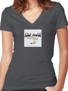 IDLE HANDS Board Company Women's Fitted V-Neck T-Shirt
