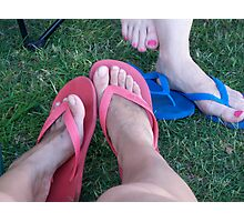 Thongs Photographic Print