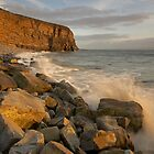 Splash! Glamorgan Coast, South Wales by dotcomjohnny