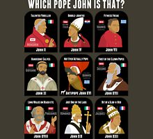 9 Pope Johns - CR3 for dark shirts Unisex T-Shirt