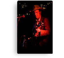 Rick Hunt - Banjo Player Canvas Print
