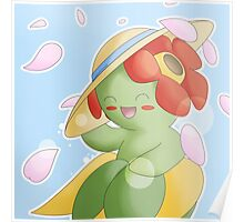 Bellossom in Sun Hat Poster