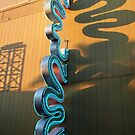 Neon Sign, Universal Studios FL by Ludwig Wagner