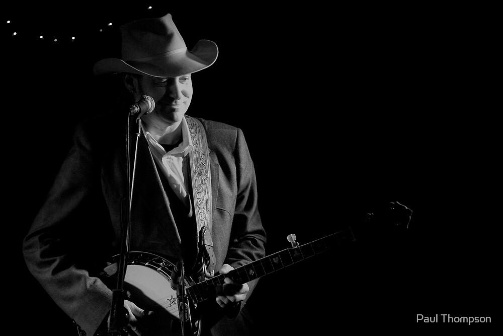 Rick Hunt - Banjo Man by Paul Thompson