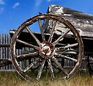 Old Wagon Wheel by Alex Preiss