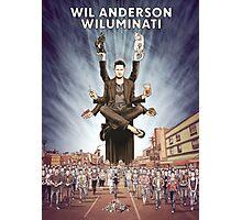 Wil Anderson - Wiluminati Poster Photographic Print