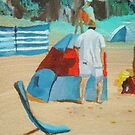 Day at the Beach 1 by Susan Brown