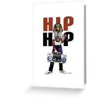 Hip Hop Pharaoh Greeting Card