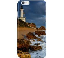 Wintery Point Lonsdale Light House iPhone Case/Skin
