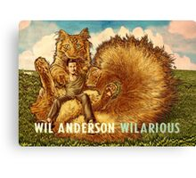 Wil Anderson WILARIOUS landscape Canvas Print