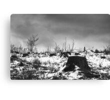 Tree Cemetery Canvas Print
