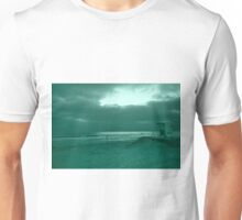 Blue Green Day At The Beach T-Shirt