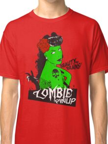 Zombie Pinup #2 Classic T-Shirt